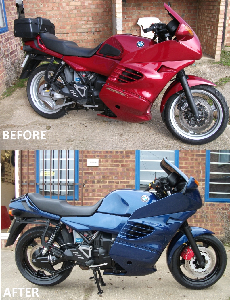 BMW K1100RS restoration to customers specification