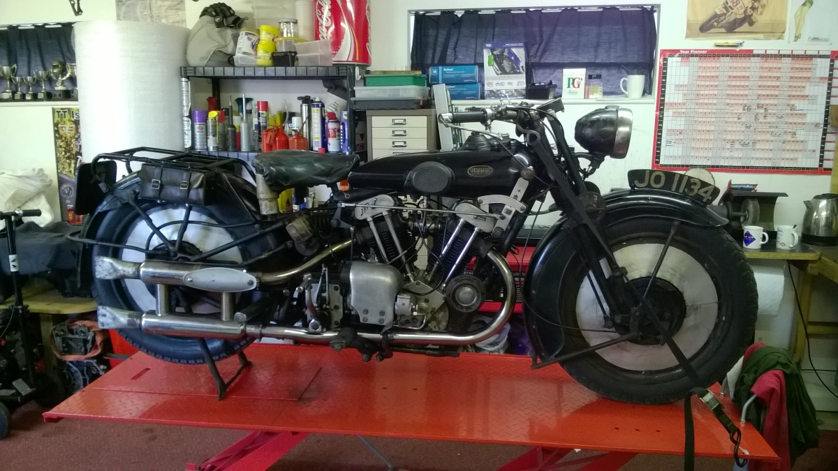 Our workshop caters for all aspects of motocycle service and repair as well as restoration and custom builds.