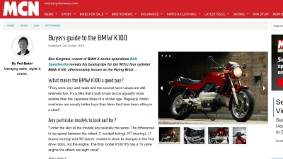Motorcyclenews.com buyers guide Sept 2016