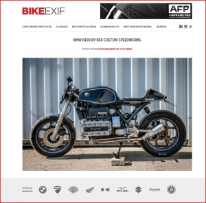 BIKE EXIF Custom bike of the week Oct 2015