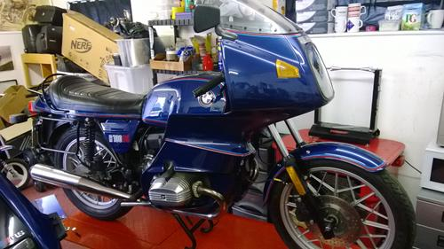 D.Mitchells's R100RS, restored to customers spec by ourselves