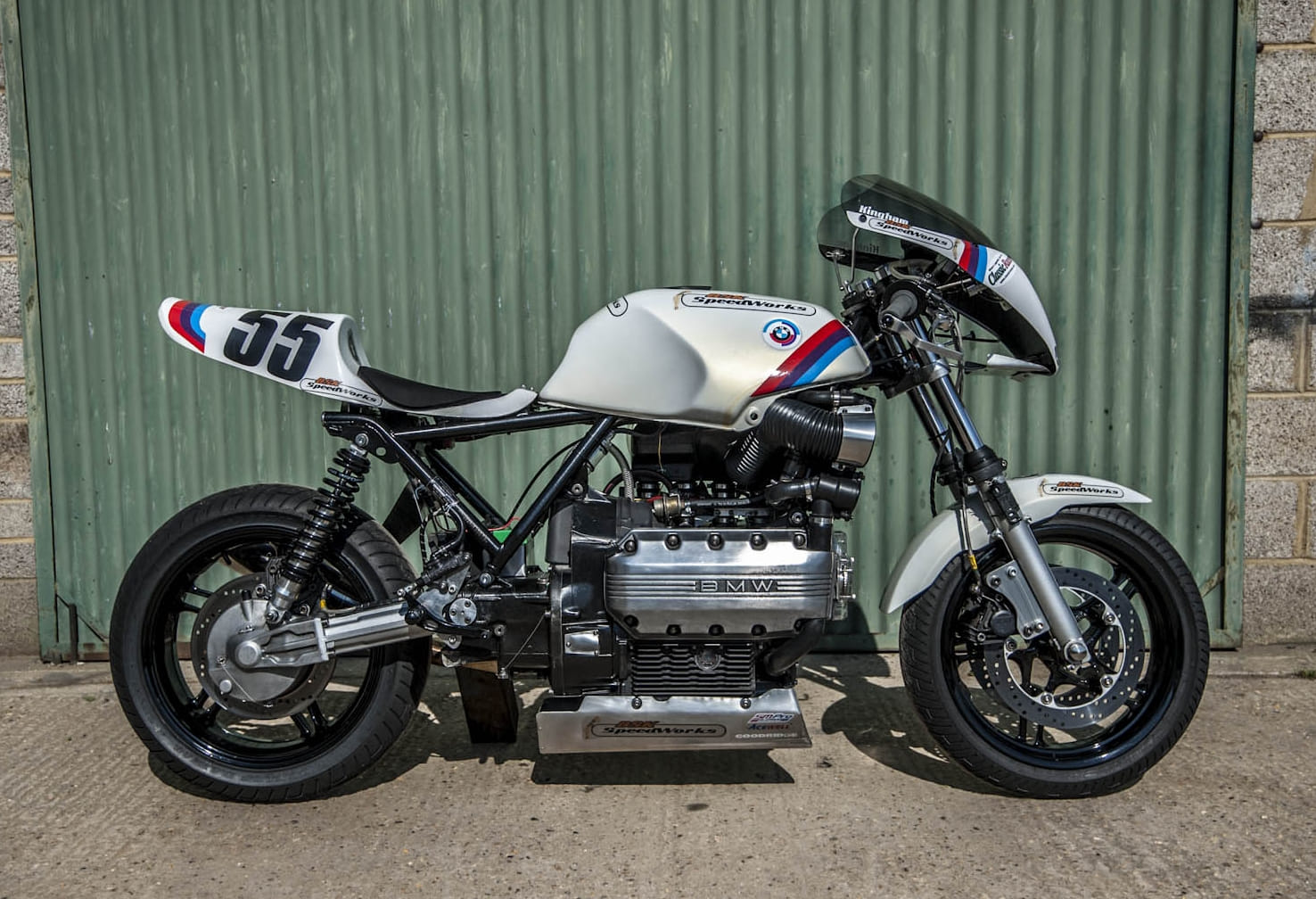 BMW K100rs Racer