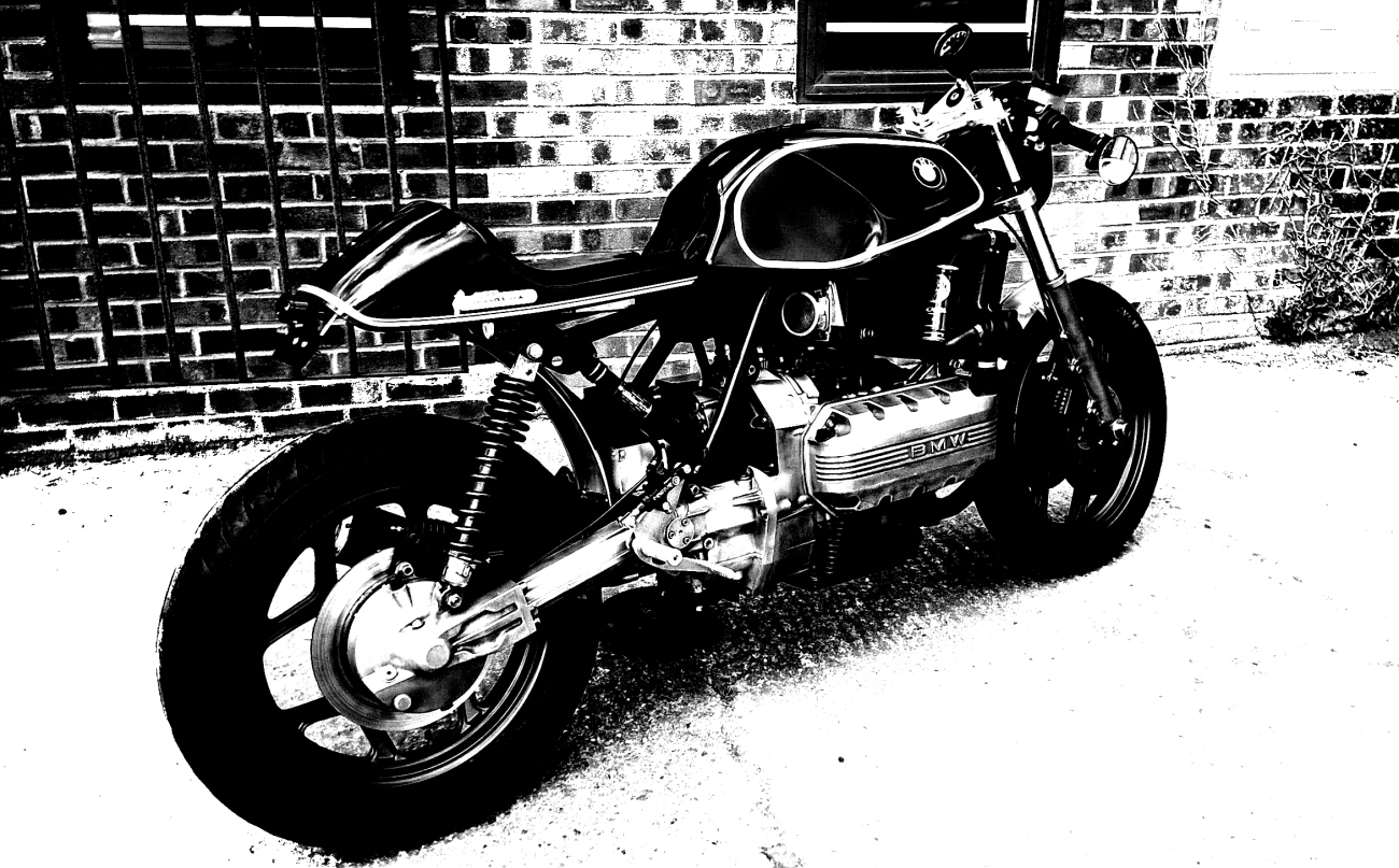 bsk speedworks bmw  tt cafe racer