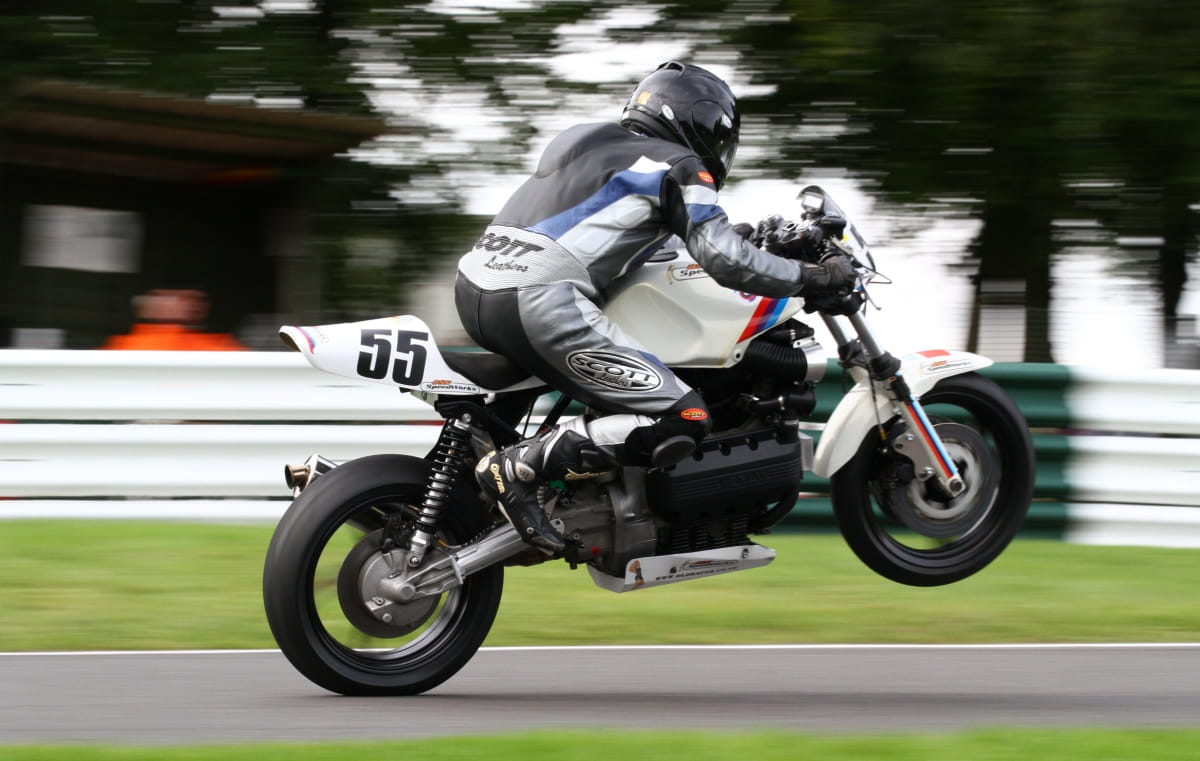 K100 at Cadwell Park Sept 2012