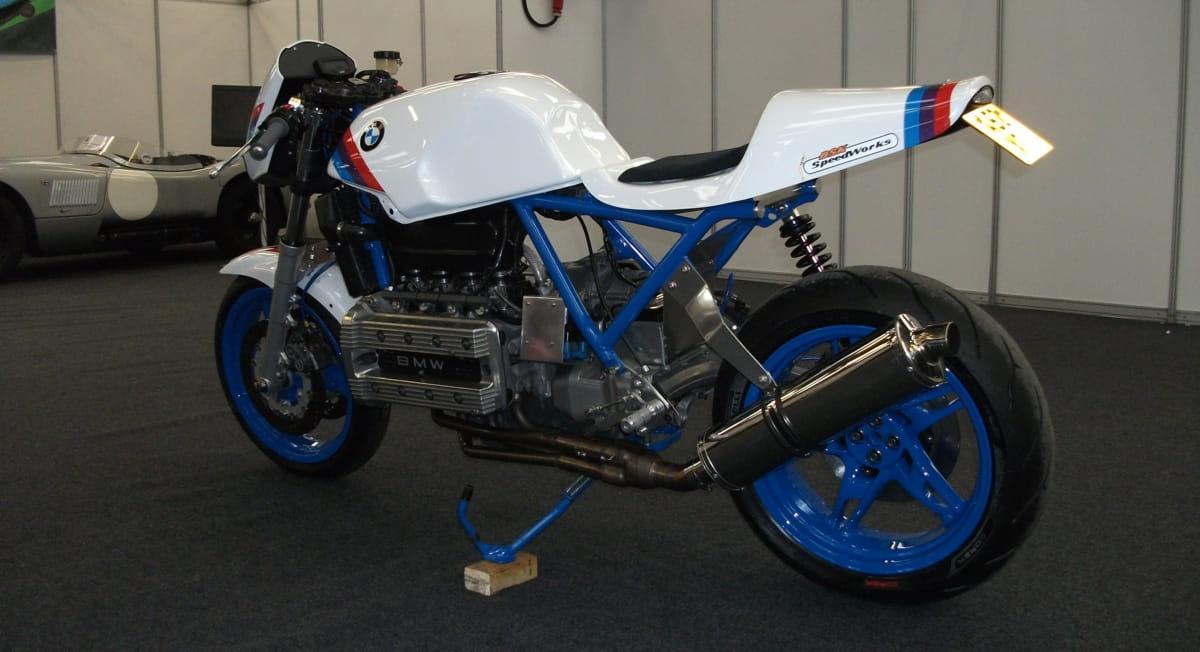 Bsk speedworks bmw k100 road legal race replica - Replica mobel legal ...