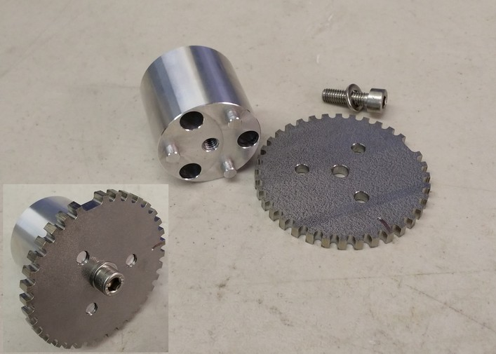 Trigger wheel with crank mount
