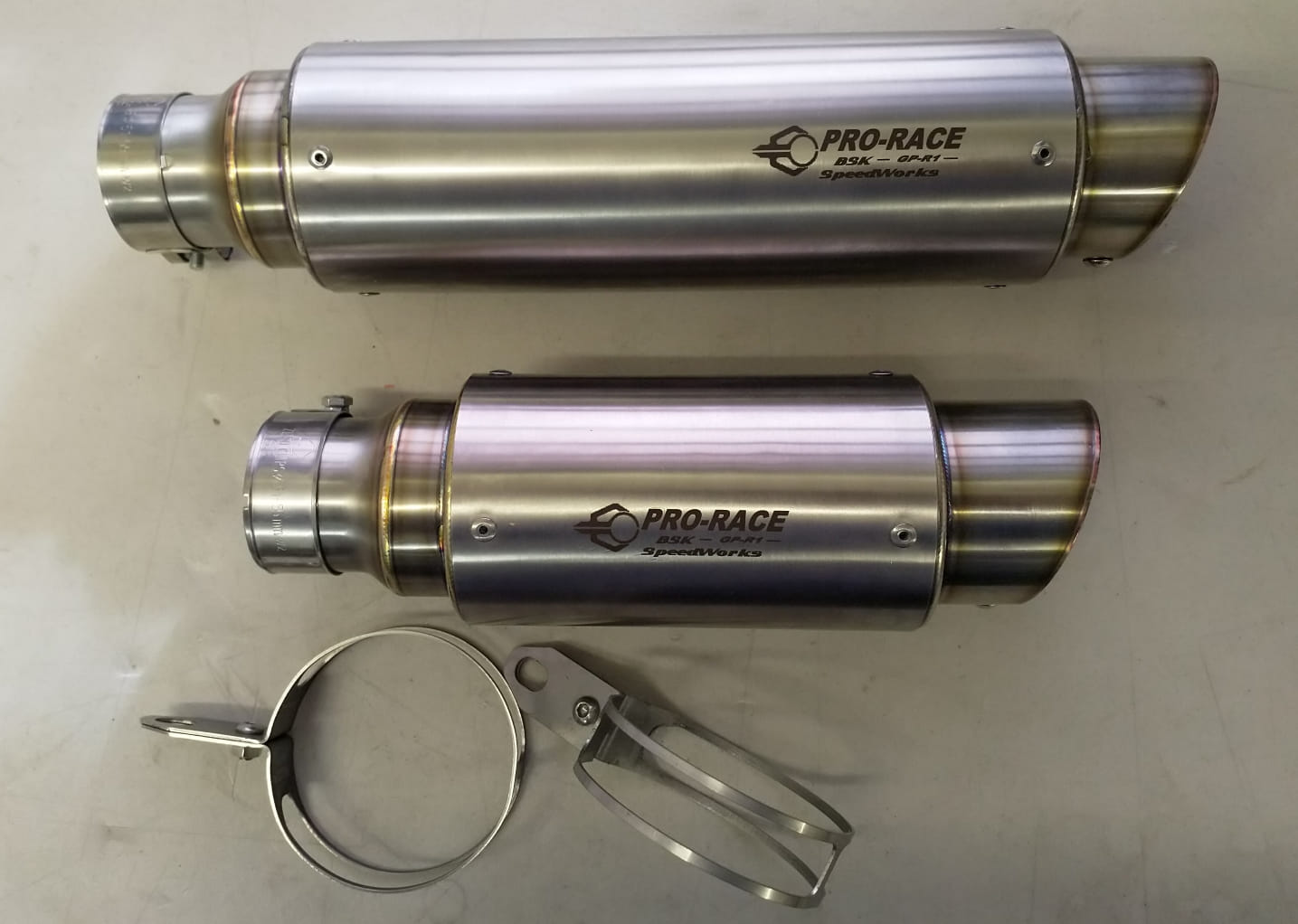 Pro-Race Exhaust, stright version (AR-D1)